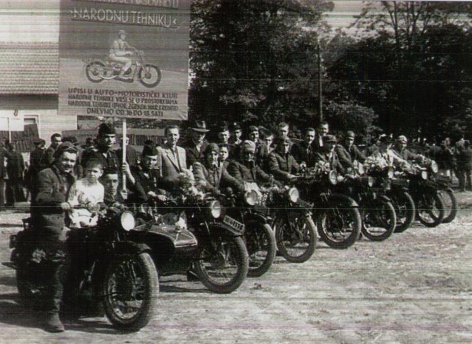 Povijesna fotografija: Divlji dečki Križevaca 1950.-e