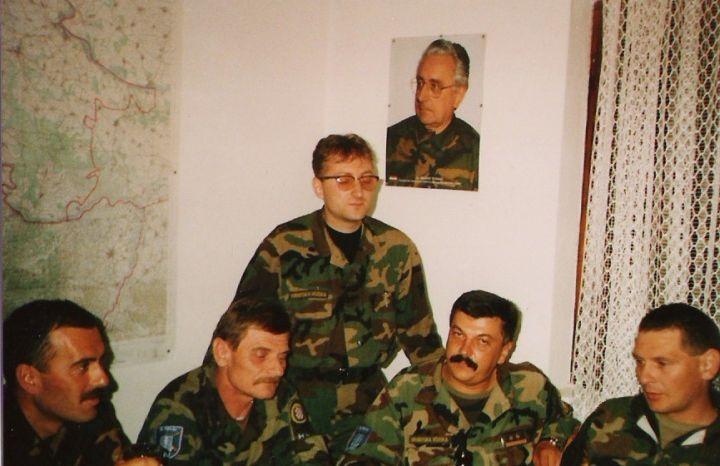 zapovjednik 1.POtrd ANTUN RADMANIĆi zapovjednici bitnica