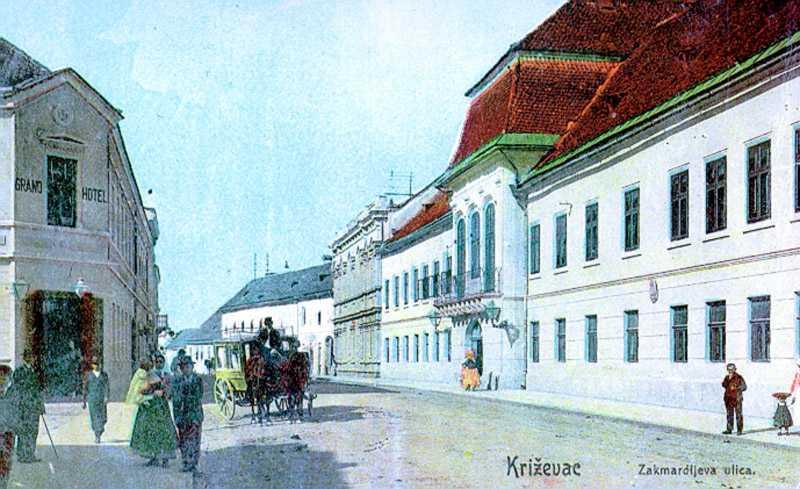 Krizevac_razglednica_Krizevci_povijest