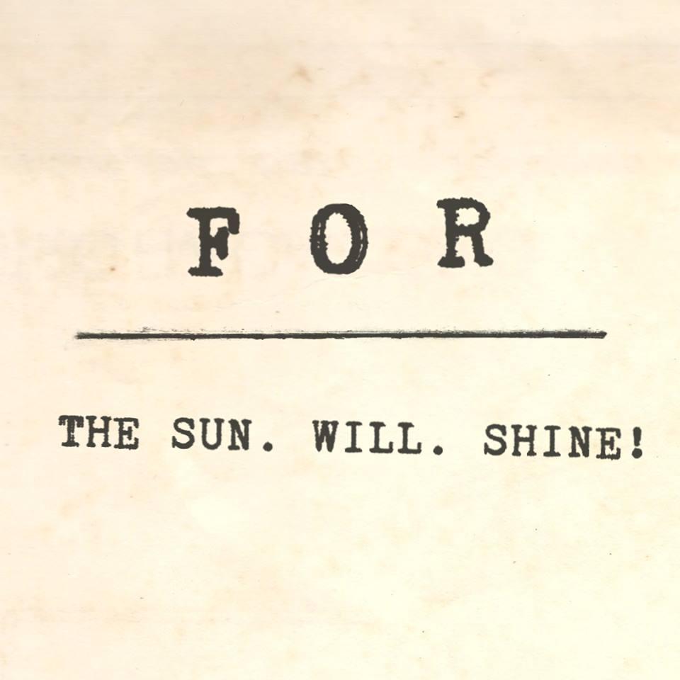 FOR_demo_album_The_Sun_Will_Shine
