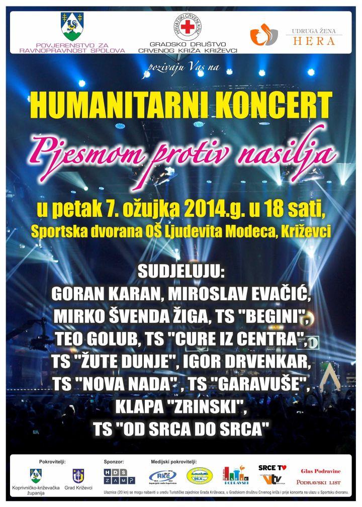 Plakat_koncert_Udruga_HERA_sportska_dvorana_Dan_zena
