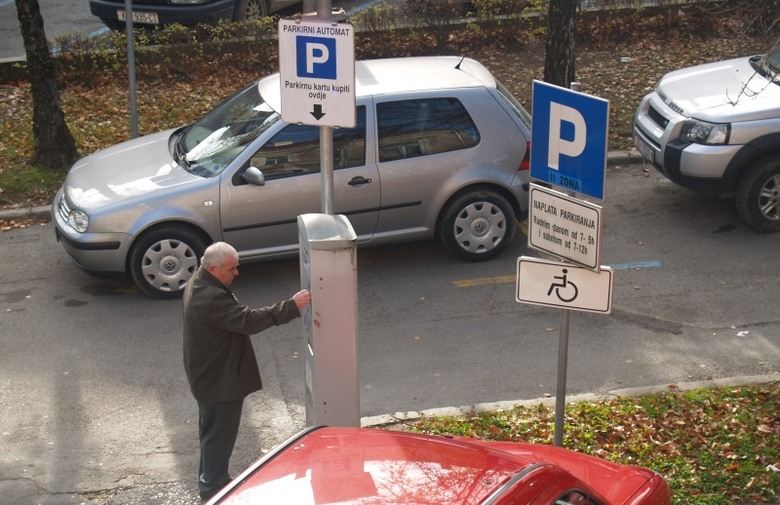 Parking Križevci - parkiranje naplata