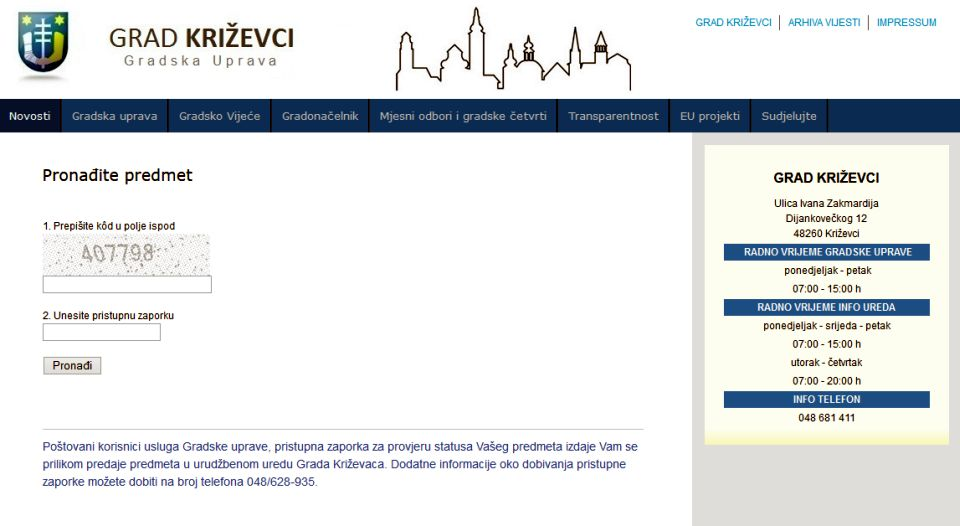 e-Status_gradska_uprava_online_pracenje_statusa_zahtjeva_predmeta
