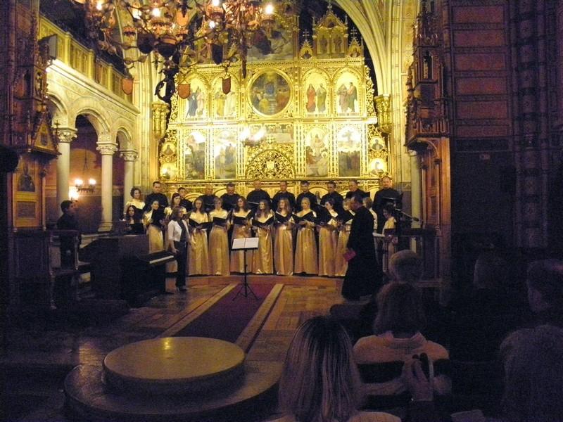 Koncert Katedralnog zbora Križevci 13. rujna 2014.