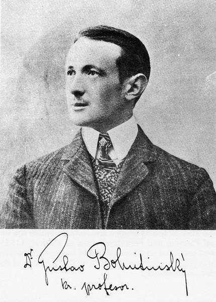 Gustav Bohutinsky (prenešeno iz članka dr.sc. Marijana Jošta)