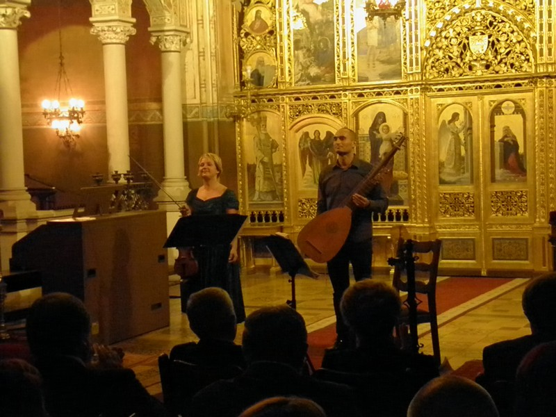 Laura Vadjon i Igor Davidovics na VBV u Križevcima 20. rujna 2014.
