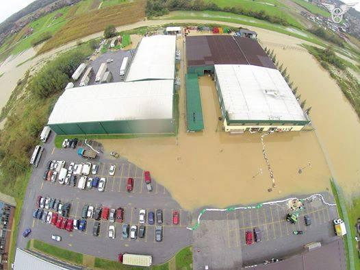 Poplavljen dio KTC-a