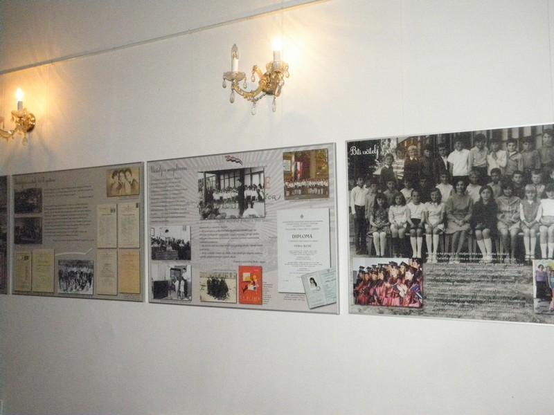 Dio izložbe u Maloj dvorani Hrvatskoga doma koja se otvara 3. listopada