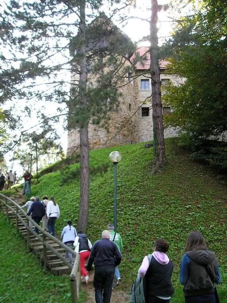 """Križevački """"gimnazijalci"""" na usponu u stari grad Dubovac"""