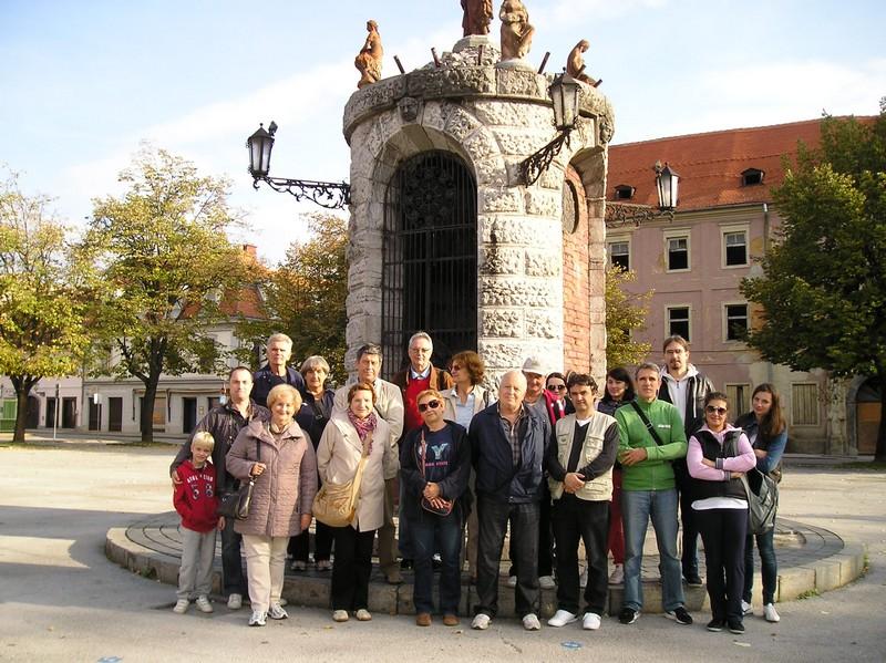 Nastavnici križevačke gimnazije i njihovi gosti u Karlovcu