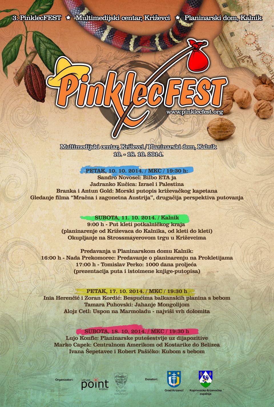 Pinklecfest 2014 - plakat 960 x 1424