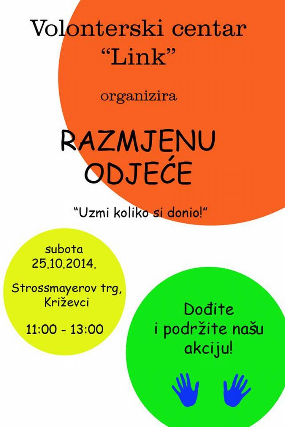 Razmjena_odjeca_recikliraj_Volonterski_centar_Link