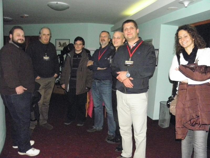 Neformalno druženje astronoma u hotelu Tomislavov dom na Sljemenu (foto: R.Matić 22. studenoga 2014.)