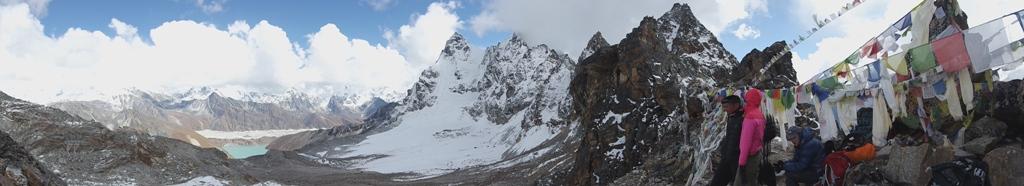 Renjo La (5360 m), uspon