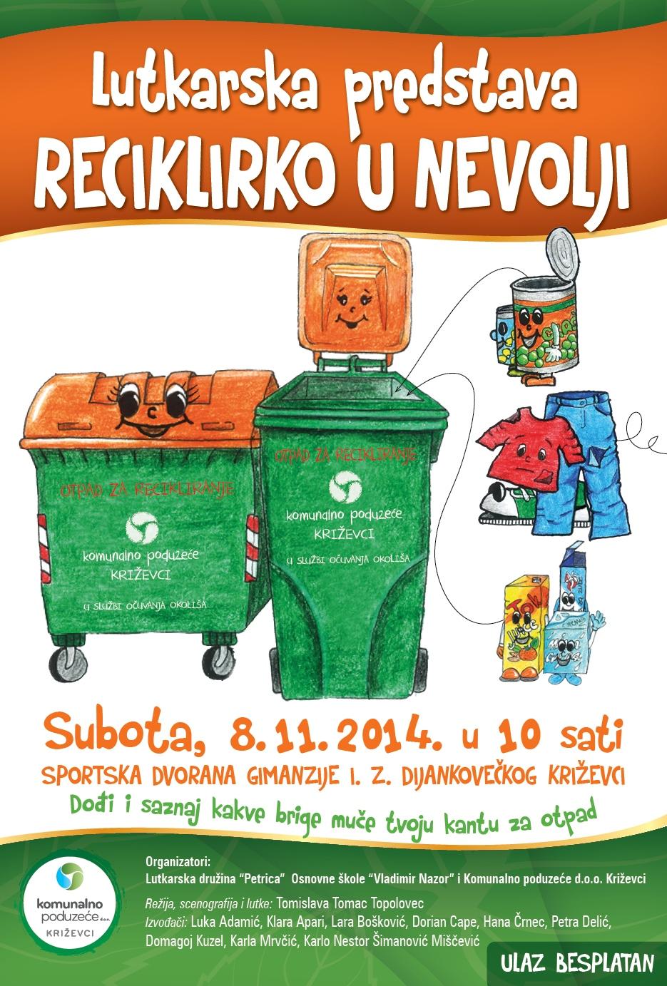Reciklirko plakat