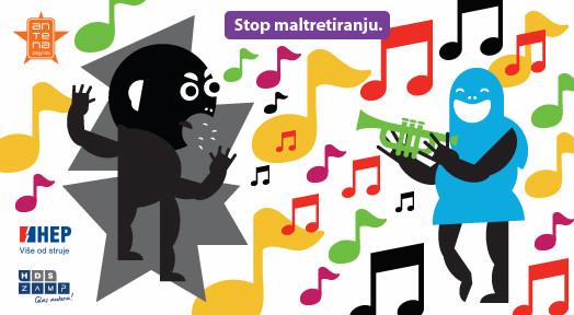Glazbom reci stop nasilju