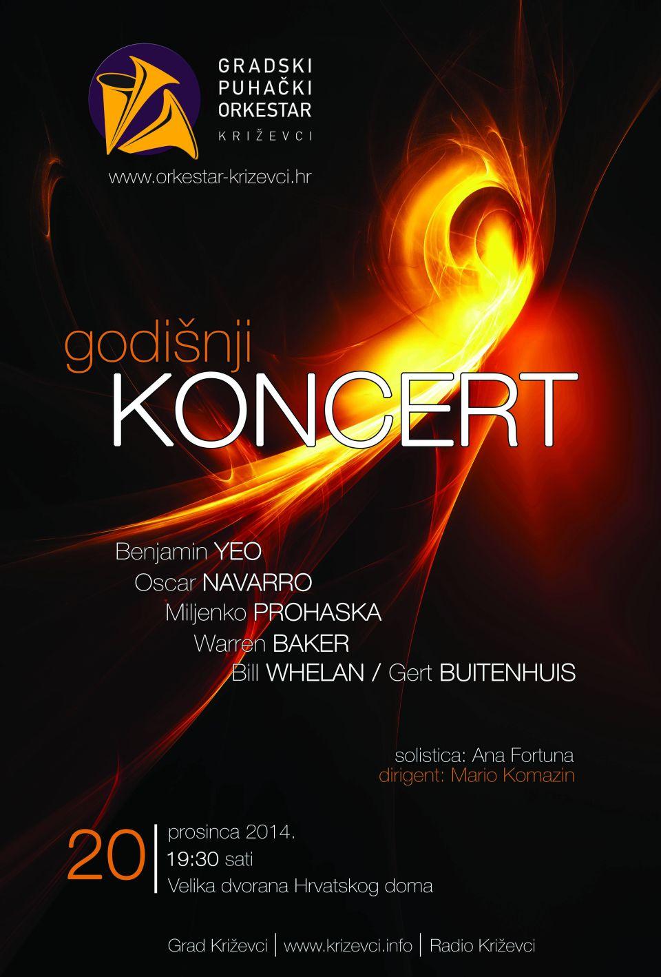 GPOK_Gradski_puhacki_orkestar_Krizevci_Bozicni_koncert_2014