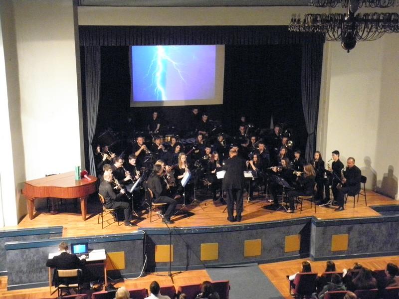Koncert Gradskog puhačkog orkestra Križevci 20. prosinca 2014. (foto: R.Matić)