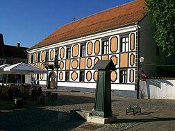 Palača Prašinski - Sermage u Varaždinu, jedno vrijeme u posjedu obitelji Sermage