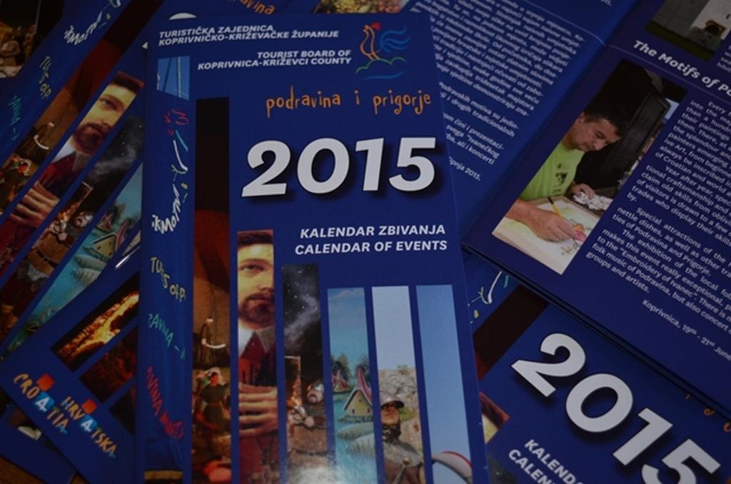 Županijska Turistička zajednica objavila Kalendar manifestacija za 2015. godinu