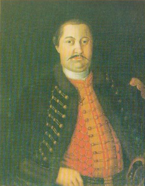 Grof Petar Troillo Sermage (1722-1771), o kojem će biti ispričana intrigantna istinita priča u ovoj emisiji (ilustracija iz računalne prezentacije Vladimira Huzjana)