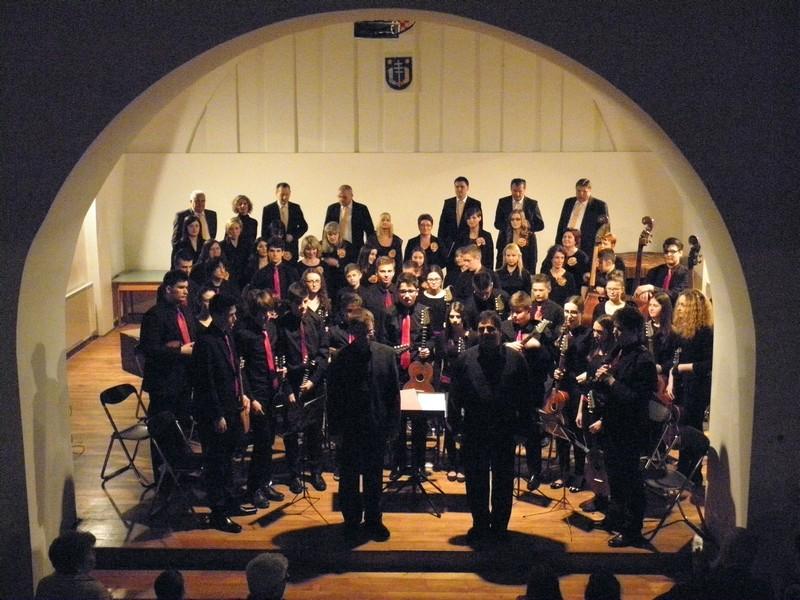 Svi izvođači na koncertu 18. travnja (foto: R. Matić)