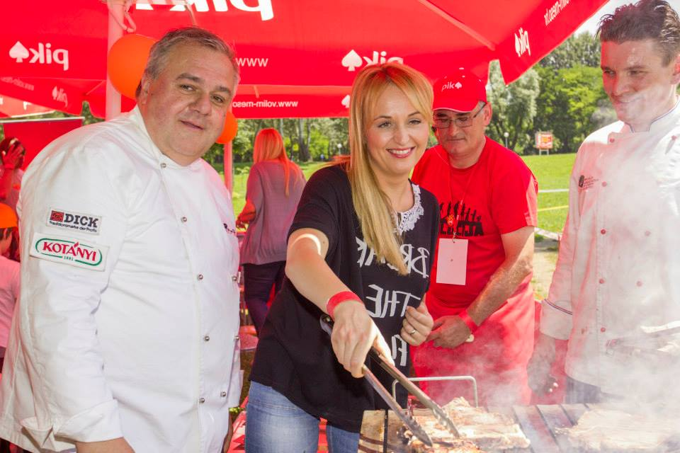 za 4. Prvenstvo Hrvatske u roštiljanju uz PIK Vrbovec