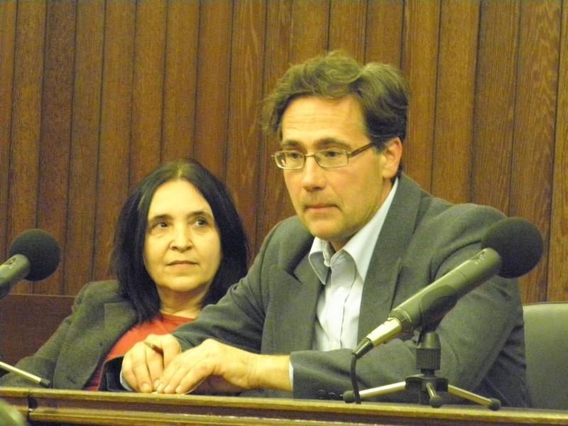 Dr.sc. Marija Karbić, recenzentica i dr.sc . Tamás Pálosfalvi na predstavljanju knjige (foto: R.Matić)