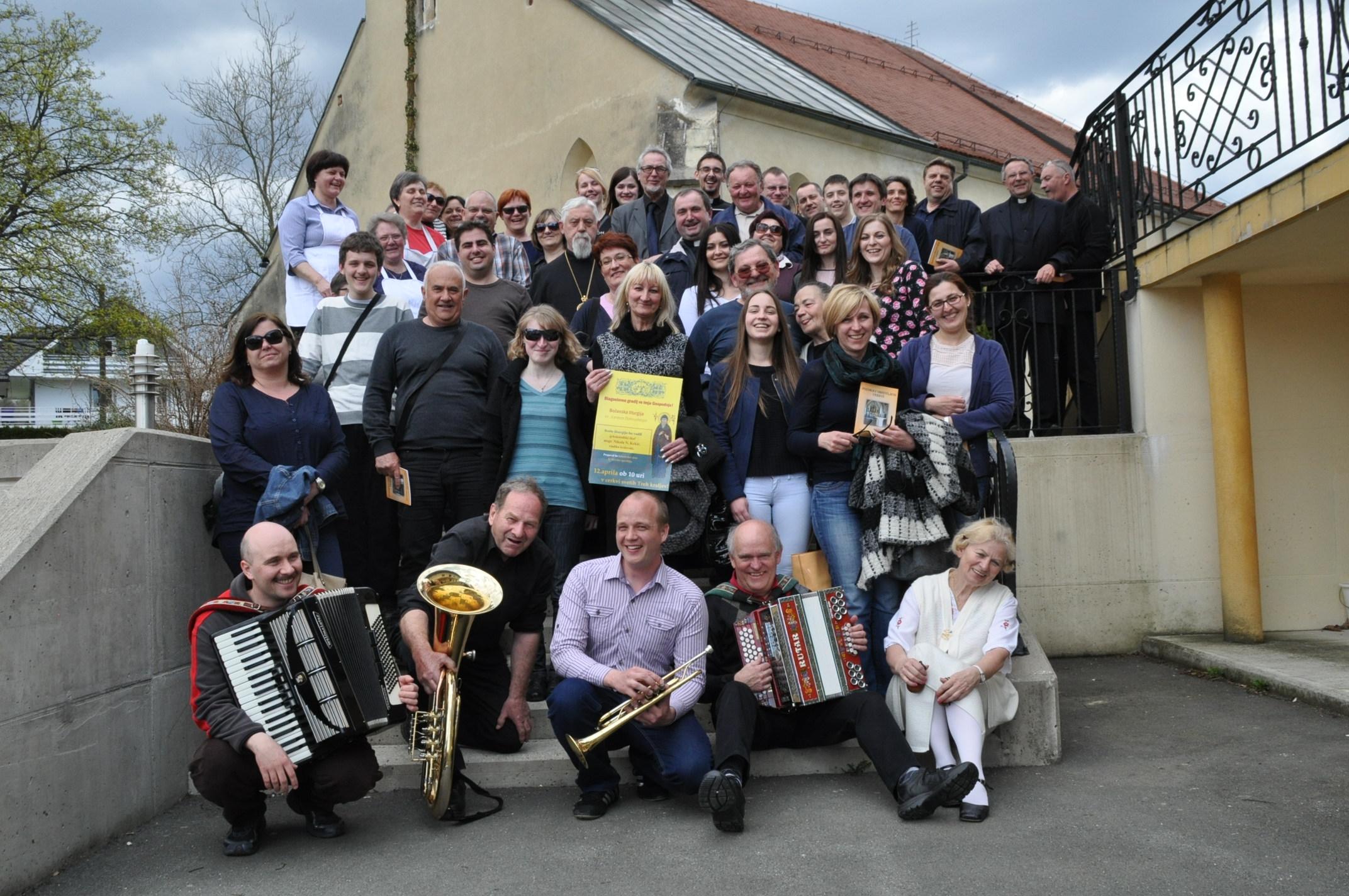 """Udruženi zborovi: Katedralni pjevački zbor i HPD """"Kalnik"""" (foto: Ozana Tandara)"""