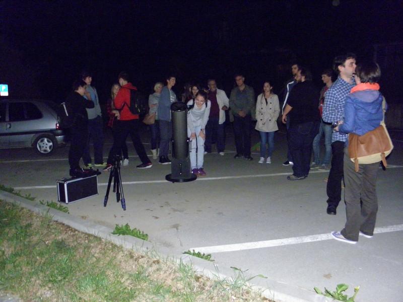 Perzeidi u posjetu križevačkoj gimnaziji (foto R.Matić)