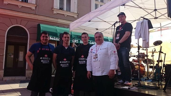 Pobjednici Udruga Mladi kuhar mala_rostiljanje