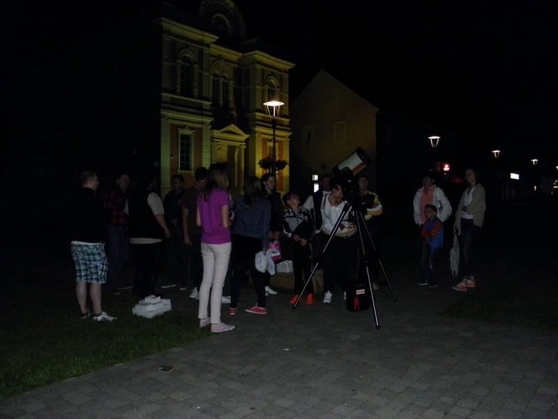 U Danima otvorenih vrata udruga Perzeidi otvaraju svojim građanima prozor u večernje nebo, 29. svibnja 2015. (foto: R.Matić)