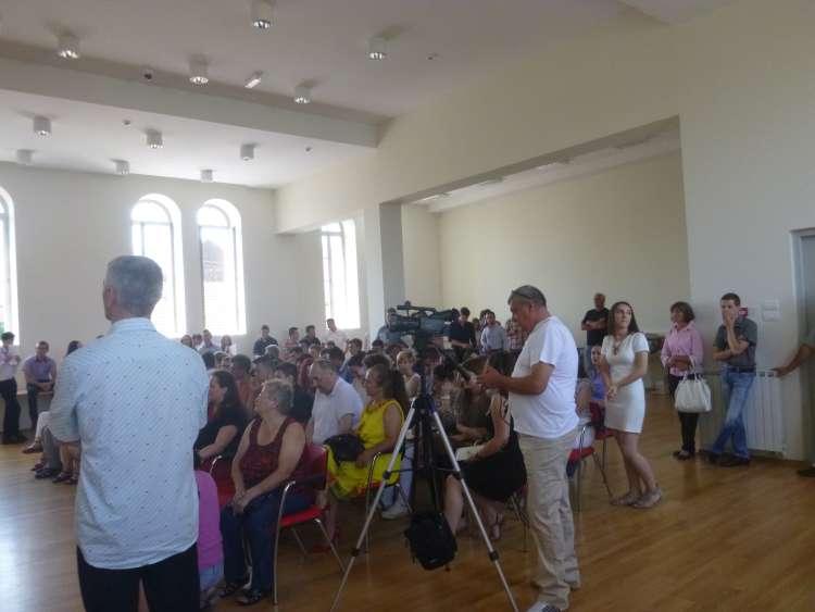 Svečana dodjela svjedodžbi maturantima Srednje gospodarske škole Križevci.