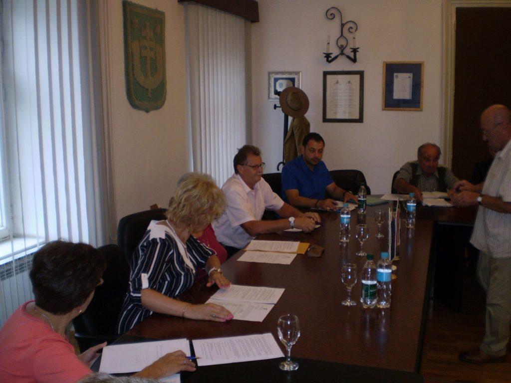 konstituirajuća sjednica Vijeća srpske nacionalne manjine grada Križevaca