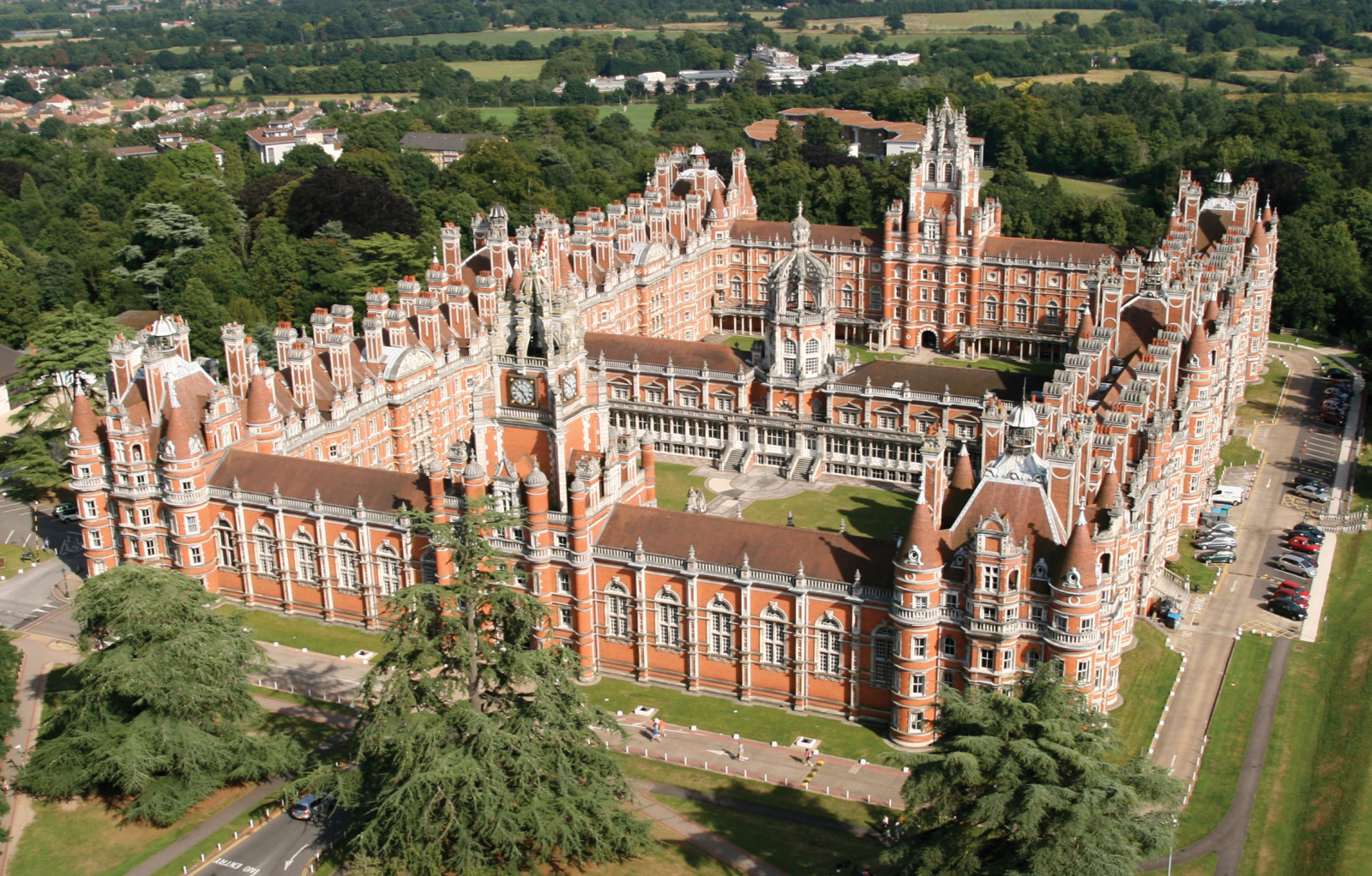 Founders_Building_Josip_Martincic_Royal_Holloway_UK_Engleska_Velika_Britanija