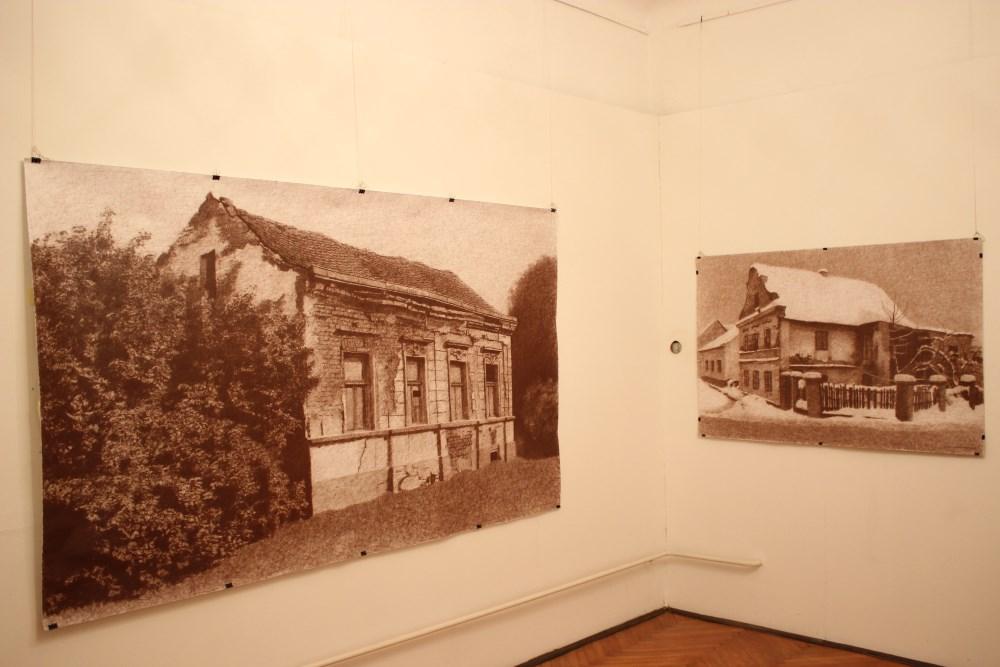 Izložba Dražena Eisenbeissera u Likovnoj galeriji koju možemo razgledati do kraja kolovoza (foto Gradski muzej Križevci)