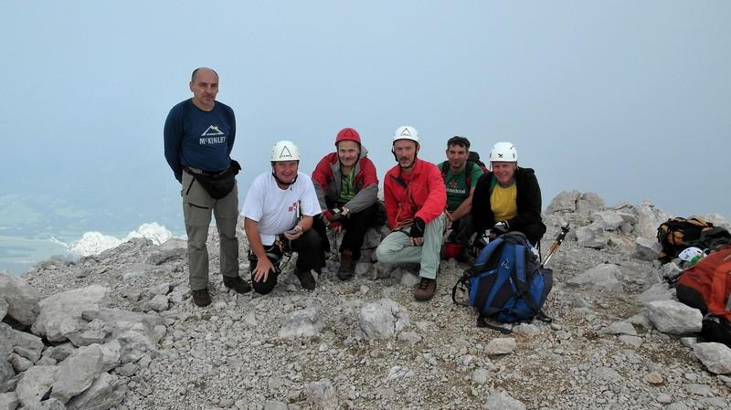 Na vrhu Špika (foto Alojz Cetl)