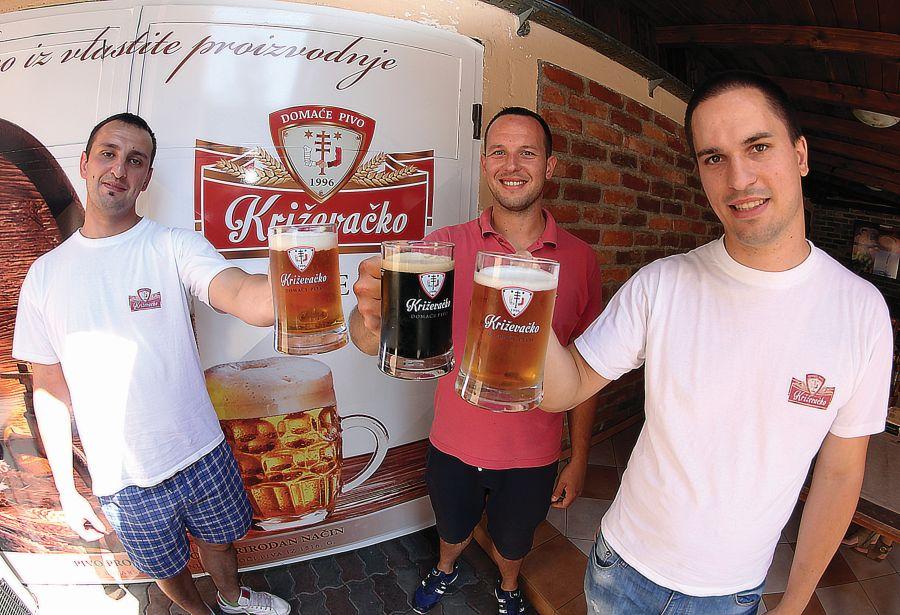 Mala pivovara na velikom glasu Križevačko pivo otkriće je ovog ljeta