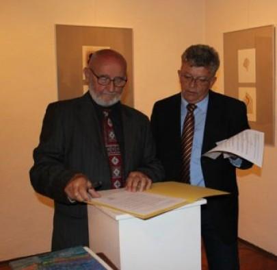 Izložba i donacija akademskog umjetnika Antona Cetina