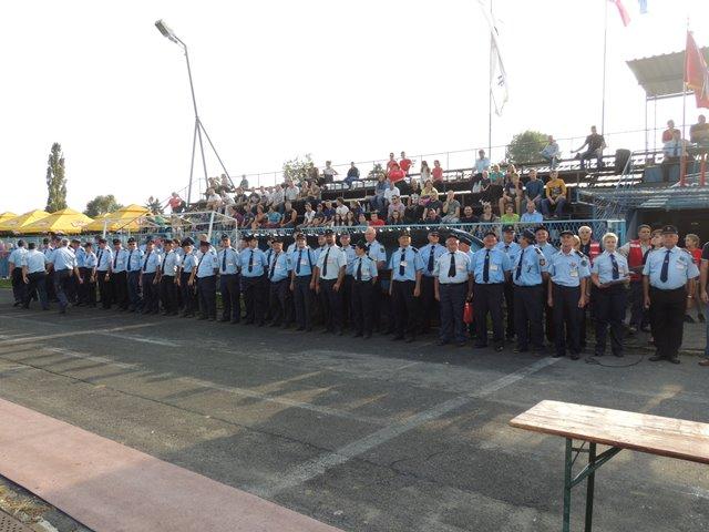 11. podravsko-prigorskom natjecanju održanom u organizaciji Vatrogasne zajednice Koprivničko-križevačke županije na Gradskom stadionu u Križevcima