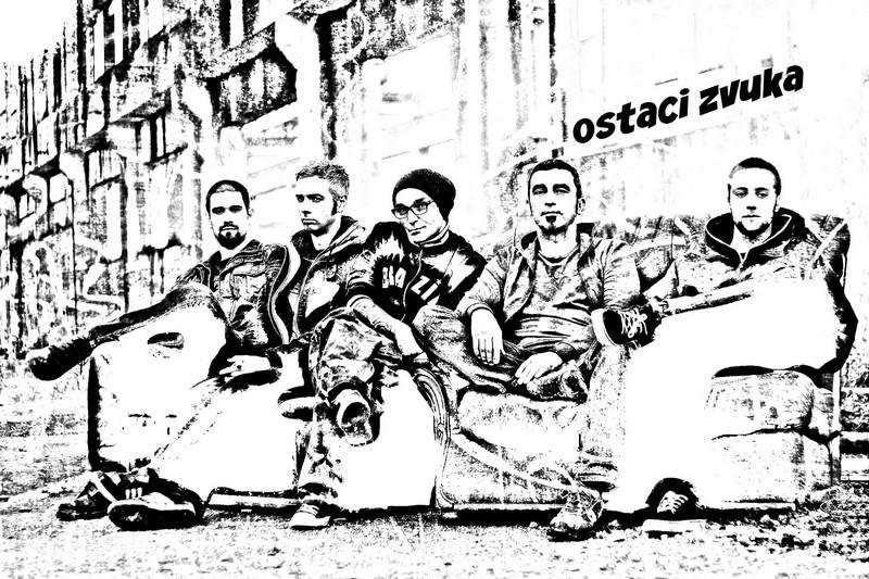 """""""'Ostaci zvuka"""" - alter-rock grupa iz Pule, drugi zdesna bivši Križevčanin Ivan Kraljević (izvor: Ivan Kraljević)"""