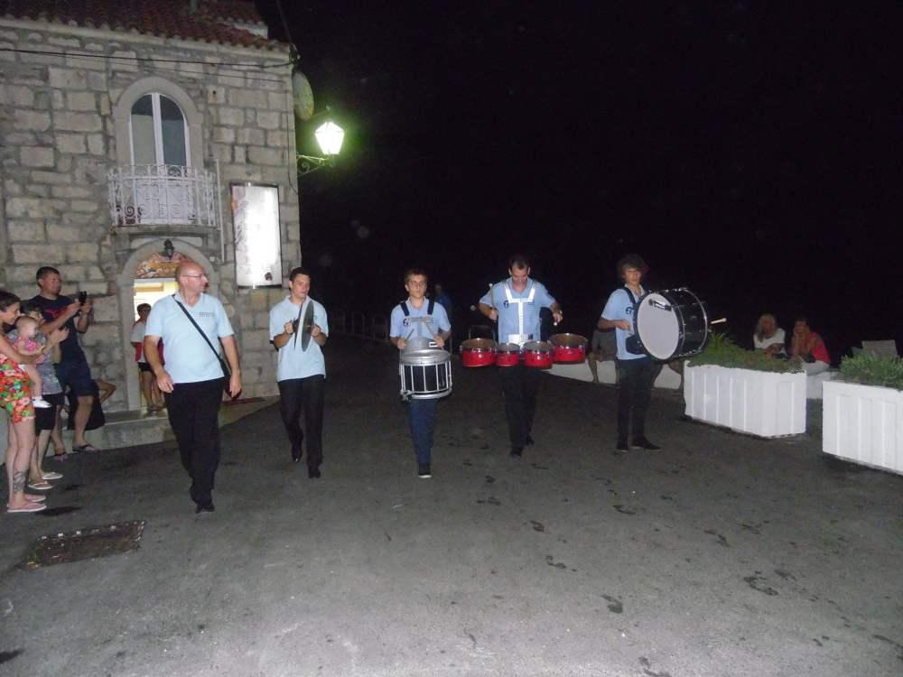 Gostovanje Gradskog puhačkog orkestra Križevci na Pelješcu