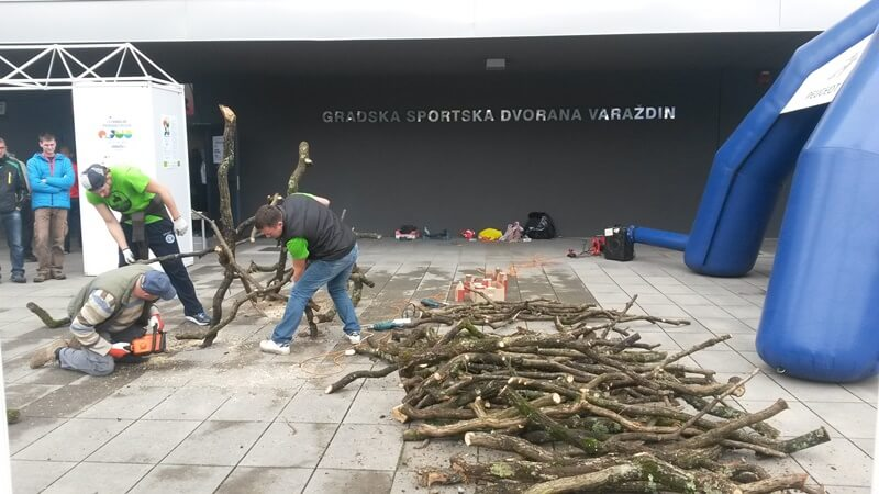 Križevački festival Granje, gostovao na Sajmu lova i ribolova u Varaždinu.