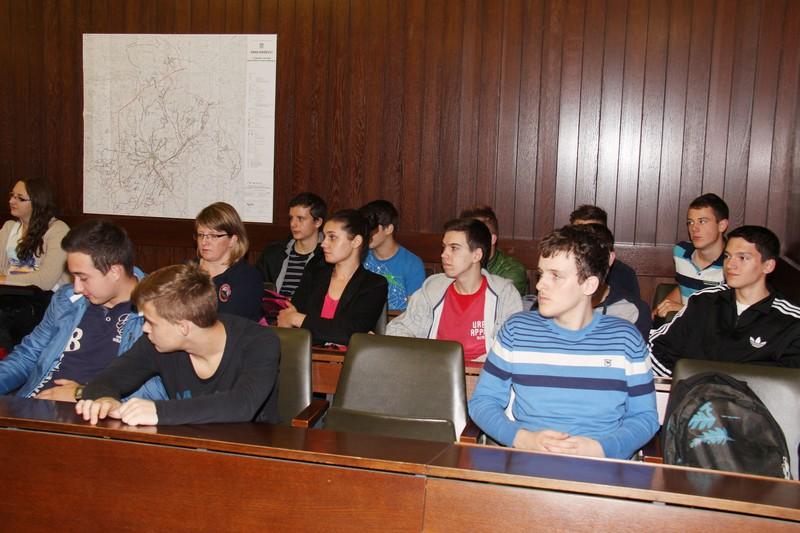 Gimnazijalci na Drugim danima Franje Markovića (foto: Marcel Kovačić)