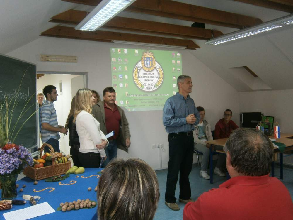 Projekt ERAZMUS+KA-1 Mobilitas iz Mađarske u Srednjoj gospodarskoj školi Križevci