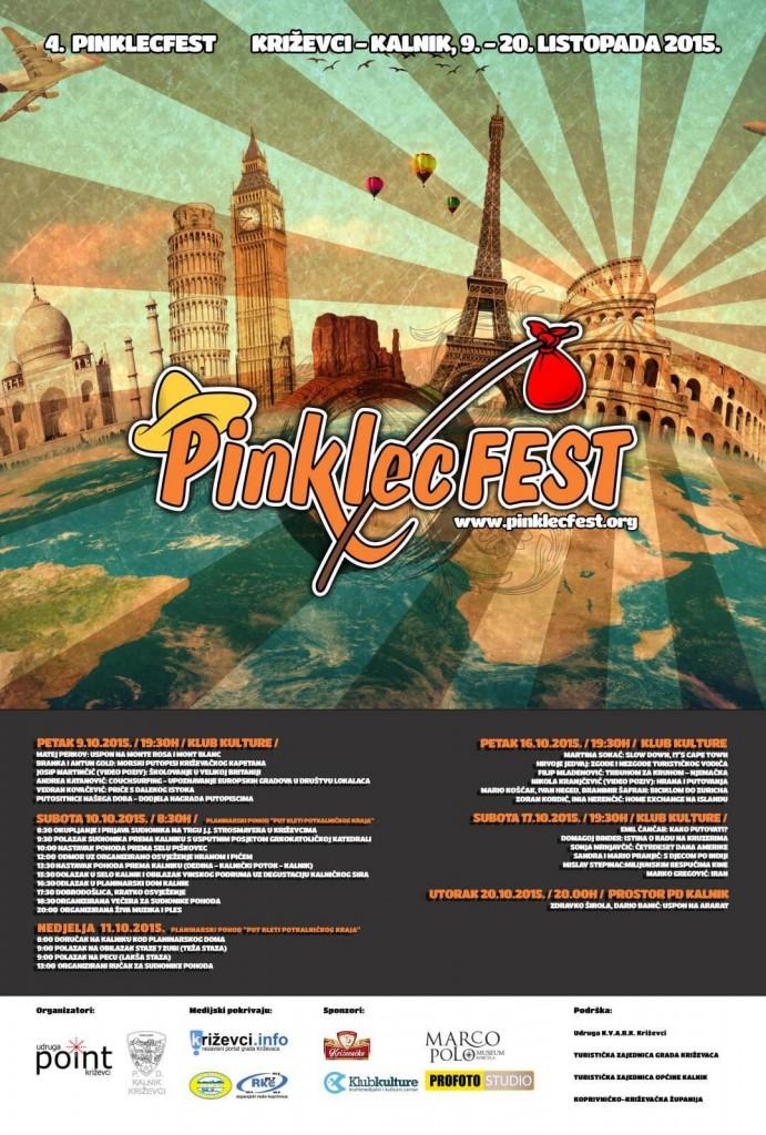 PINKLECFEST 2015 PLAKAT