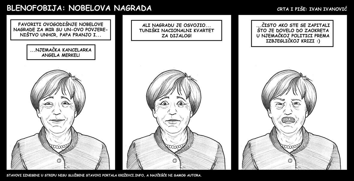 Blenofobija: Nobelova nagrada