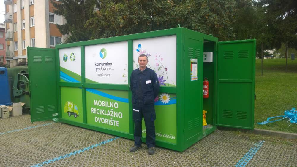 Mobilno reciklažno dvorište u vašem susjedstvu''