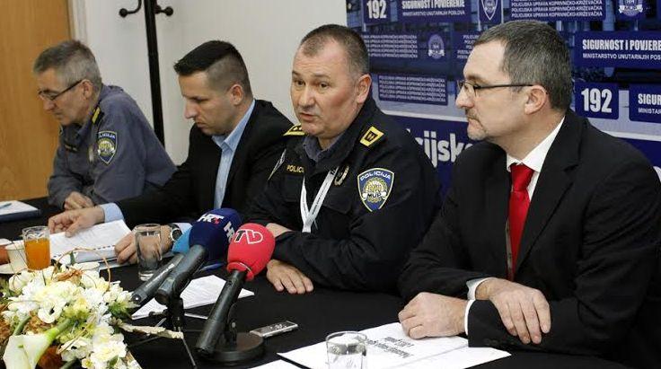 Prvi čovjek Policijske uprave koprivničko-križevačke Darko Rep