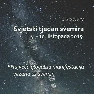 svjetski tjedan svemira 2015 facebook